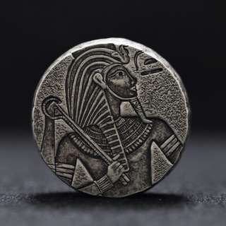 2016 5OZ REPUBLIC OF CHAD EGYPTIAN RELIC SERIES - KING TUT