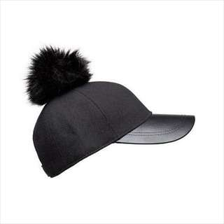 RRP: $49.95 Seed Heritage Pom Pom Hat - Black