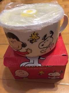 Snoopy 有耳有蓋杯