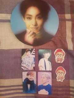 Xiumin fan merchandise