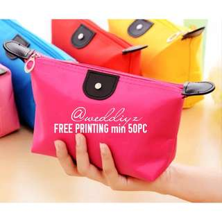 Teacher Day Corporate Gift Pouch FREE Word Printing for min 50pcs