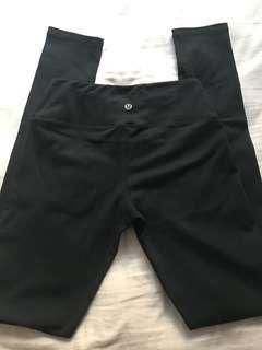 Lululemon Black Yoga Pants Leggings