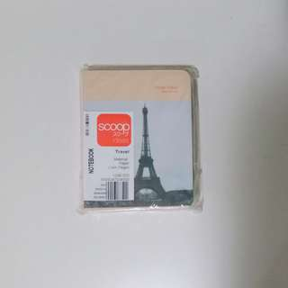 Scoop travel notebook (paris ver.)