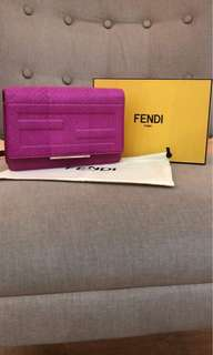 Fendi bag on chain