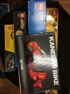Lego 4 盒加1本書