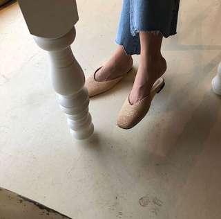 92pleats 竹編便鞋