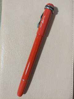 Montblanc Heritage Collection Rouge Et Noir Coral