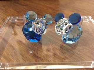Swarovski 水晶擺設(🐭夫婦)