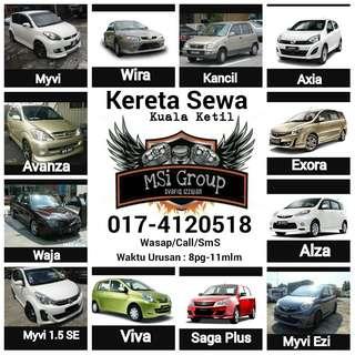 Kereta Sewa Kuala Ketil 0174120518