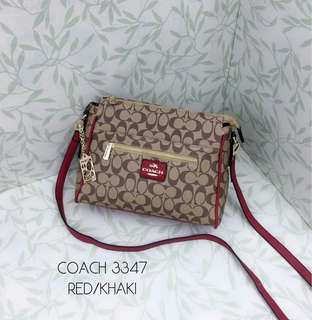 Coach Sling Bag Red