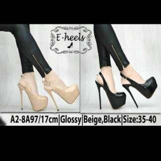 E heels cream preloved