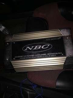 美式NBC-800Wx2/2Ω二聲道擴大機