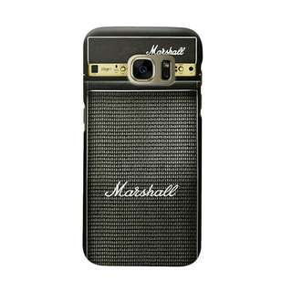 Marshall Amplifier Samsung Galaxy S7 Edge Custom Hard Case