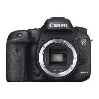 Canon 7D mark II body 98% new