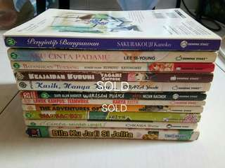 Assorted Pre-loved Comics