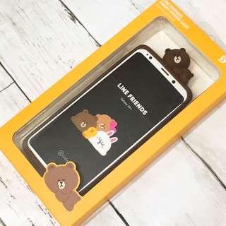 全新 Samsung Galaxy S9+ Line Friends case 熊大手機套