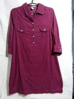Old Navy Corduroy Collared Dress