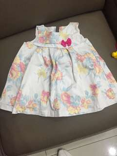 Hush puppies dress 18-24m