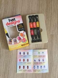 Nail Polish Hot design with guides