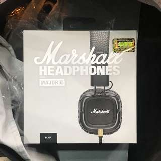 Marshall Headphones Marjor II 有線