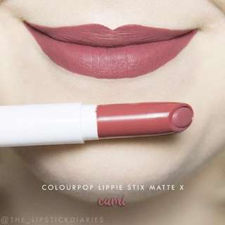 Colourpop Lippie Stix Cami