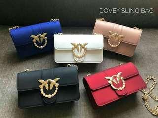 Silica dove sling bag