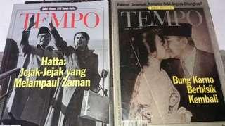 Majalah Tempo *edisi khusus ~ Bung Karno & 100 thn Hatta