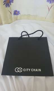 City Chain Paper Bag