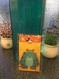 迪士尼毛毛徽章 Disney momo pins