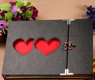 Hearts and Love DIY Photo Album Gifts