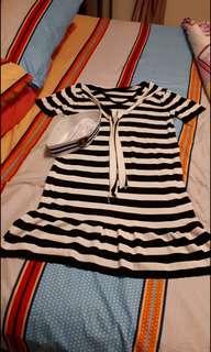 sailor dress navy dress