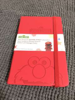 🚚 Brand New Sesame Street Elmo Mahrker Notebook