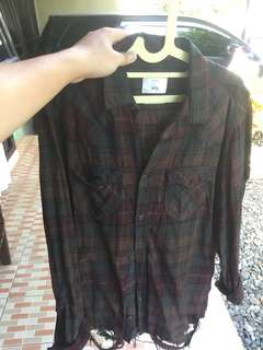 Original Zara Man Riped Shirt