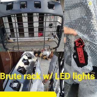 Brute Rack w/ LED lights