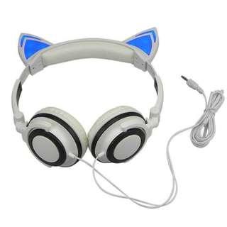 561. Cat Ear Headphones - With Glowing Ears