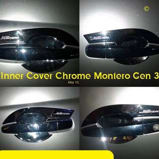 Inner Cover Chrome Montero Gen 3