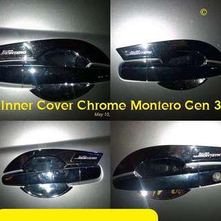 Inner Cover Chrome Montero Gen 3