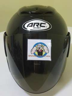 2706*** ARC RITZ Black v Tinted visor For Sale !!!Brand New (YAMAHA, Honda, SUZUKI, ETC)