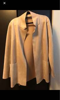 Zara Coat in Tan
