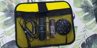 Make up pouch/ data cables organizer