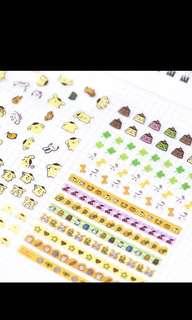 🚚 Planner stickers