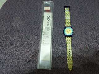 (90%new) 1994年 Swatch LM107