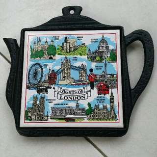 Beautiful Coaster from London (can also hang it up)