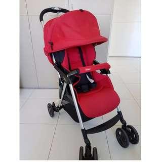Combi Red Stroller