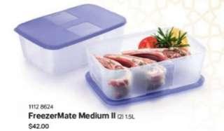 Tupperware FreezerMate Medium ll (2) 1.5L