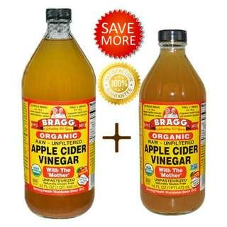 Cuka apel 473 ml + 946 ml