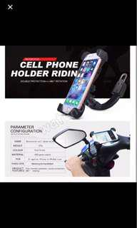 🚚 Motorbike motorcycle secure 4 claw phone holder