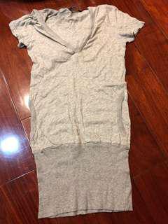 棉質長版上衣