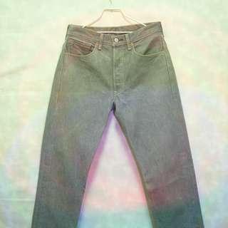 三件7折🎊 Levi's Levis 501 牛仔褲 長褲 石洗灰刷色 墨西哥製 極稀有 老品 古著 Vintage