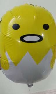 Gudetama foil balloon